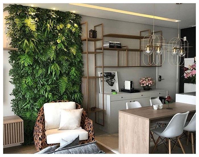 Verde em casa pelo Meet Arquitetura