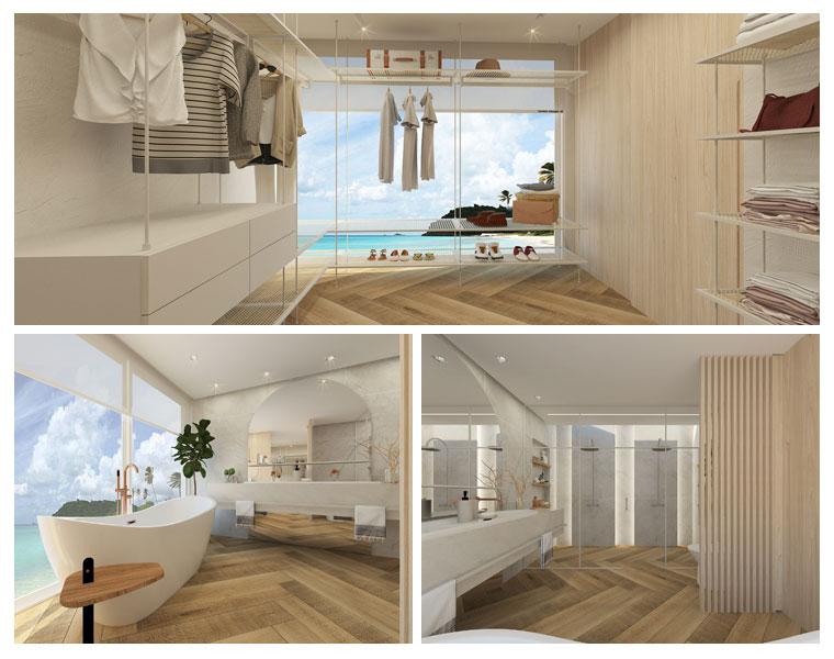 Daniel Kroth assina suite em casa de praia