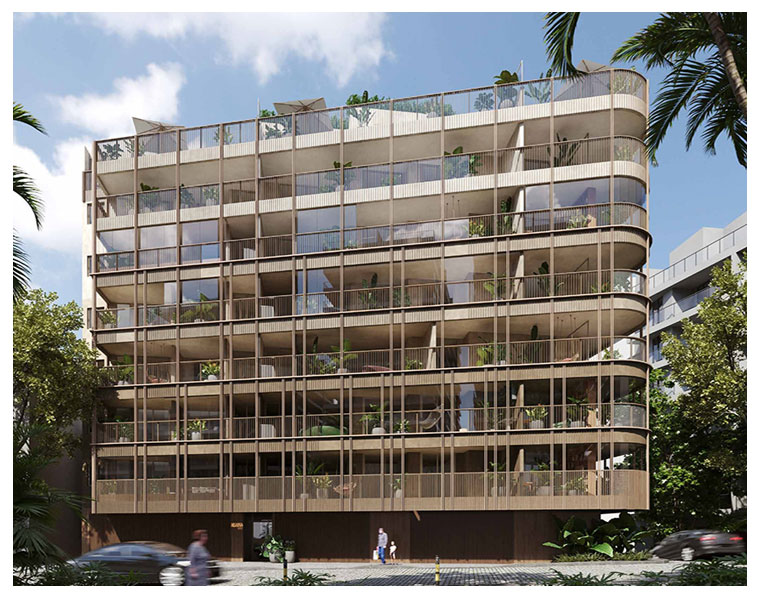 Edifício Igara pelo Cité