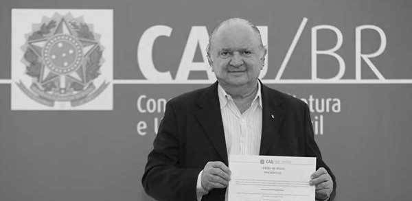 Luciano Guimarães é eleito presidente do CAU/BR
