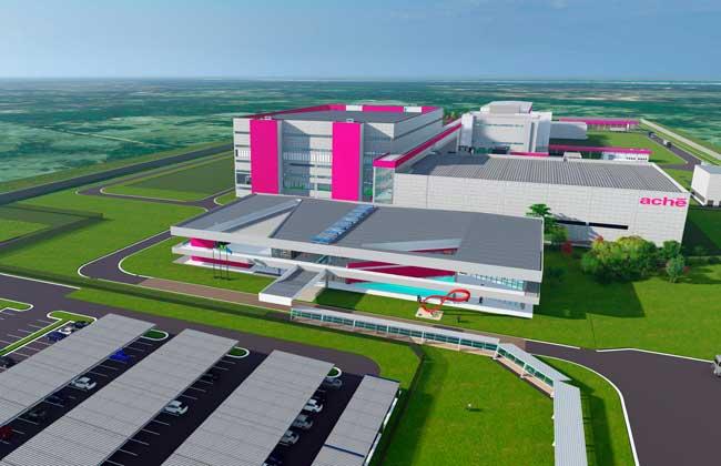 Nova fábrica Aché em Pernambuco