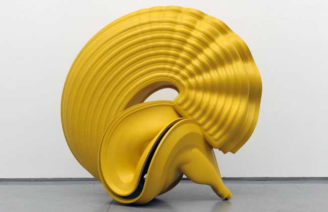 Tony Cragg no MuBE