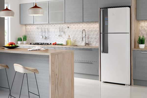 Nova geração de refrigeradores Electrolux