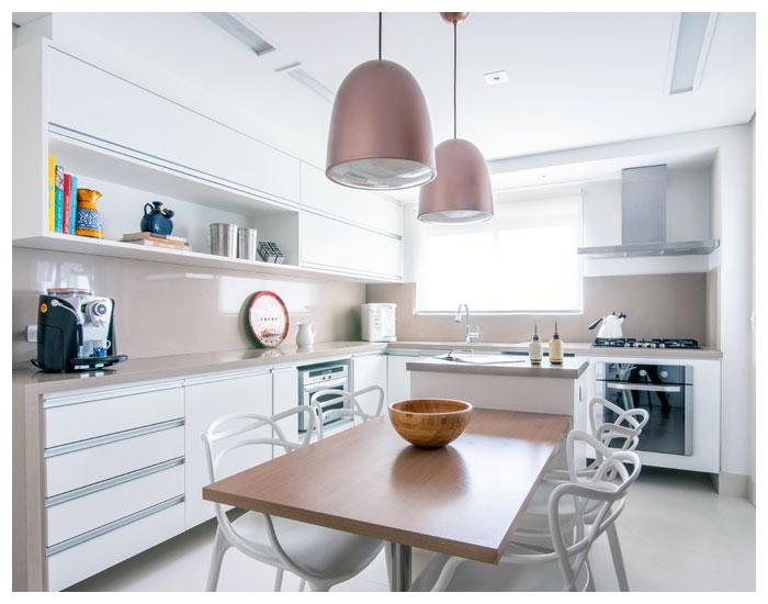 Ergonomia na cozinha de Isabella Nalon