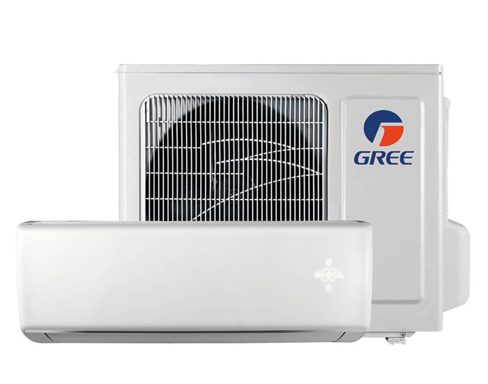 Ar-condicionado Gree barra impurezas e purifica o ar