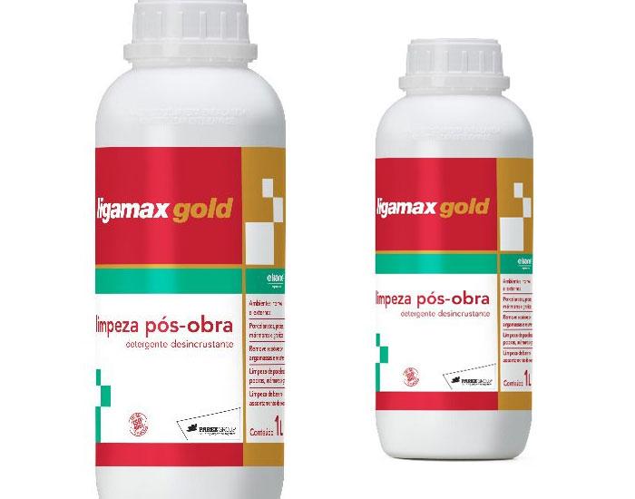 Ligamax Gold Sika para limpeza pós-obra