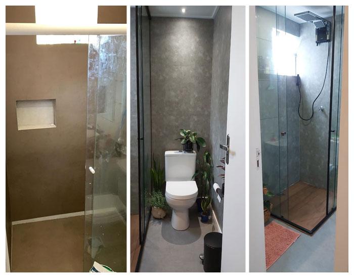 ePiso reforma o banheiro sem quebra-quebra