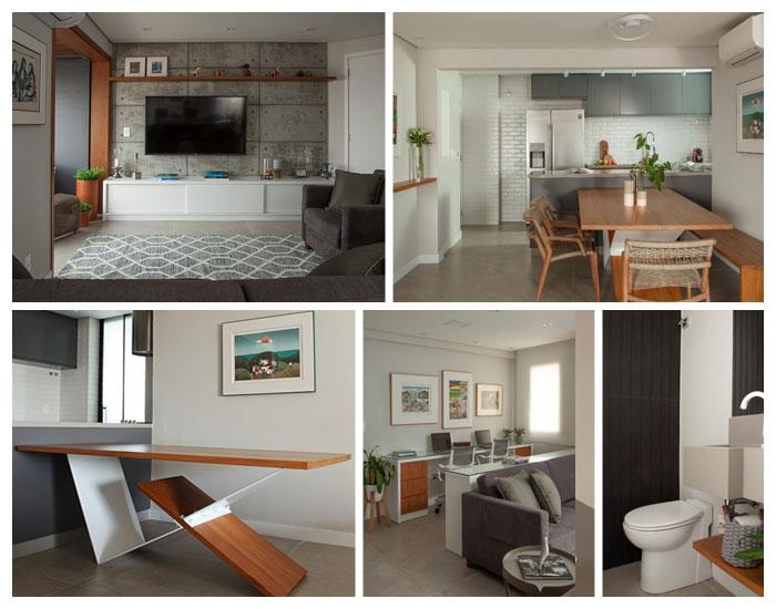 Bruno Moraes transforma apartamento antigo