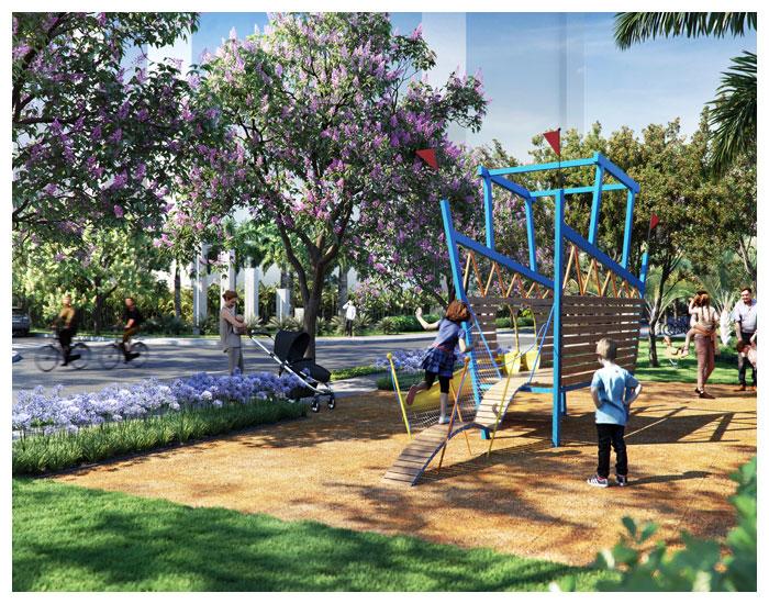 Parque Linear assinado por Benedito Abbud
