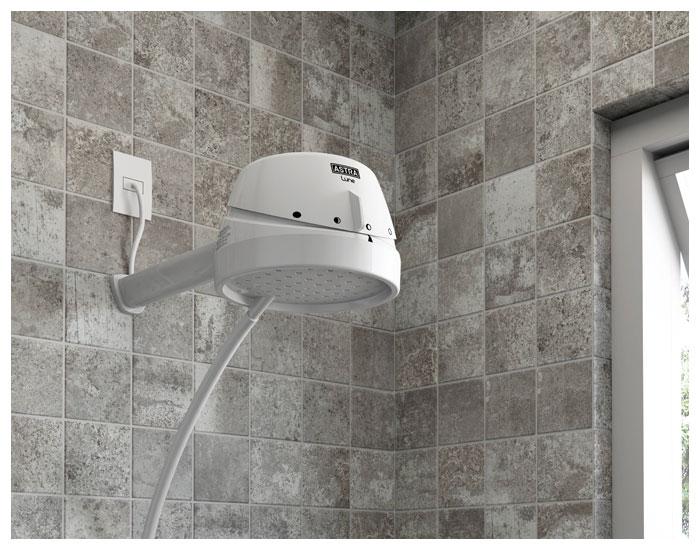 Astra lança ducha elétrica