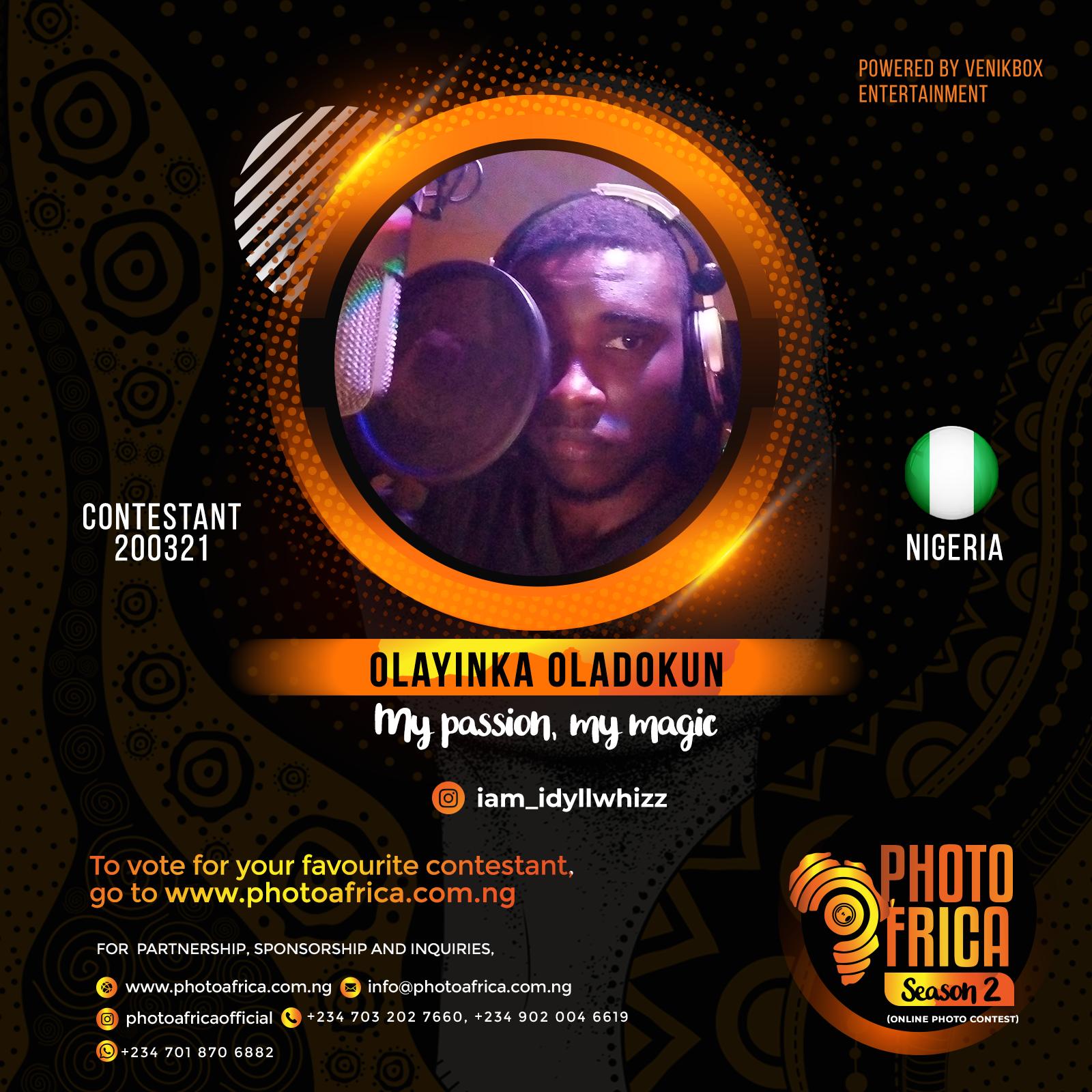 Olayinka Oladokun's Artwork