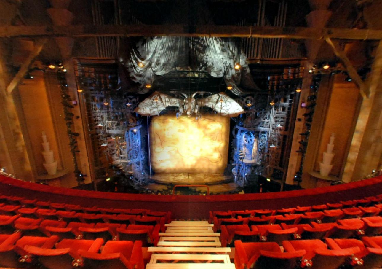Victoria Apollo – 360 Virtual Tours – Apollo Victoria Theatre Seating Plan