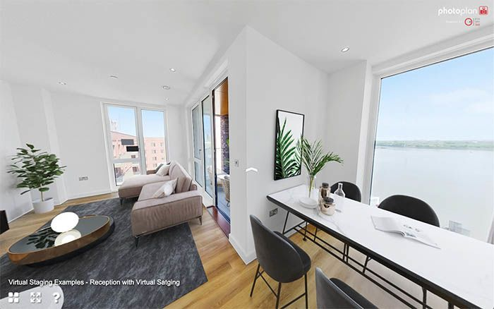 Virtual Staging Property Marketing for Uninhabited Homes