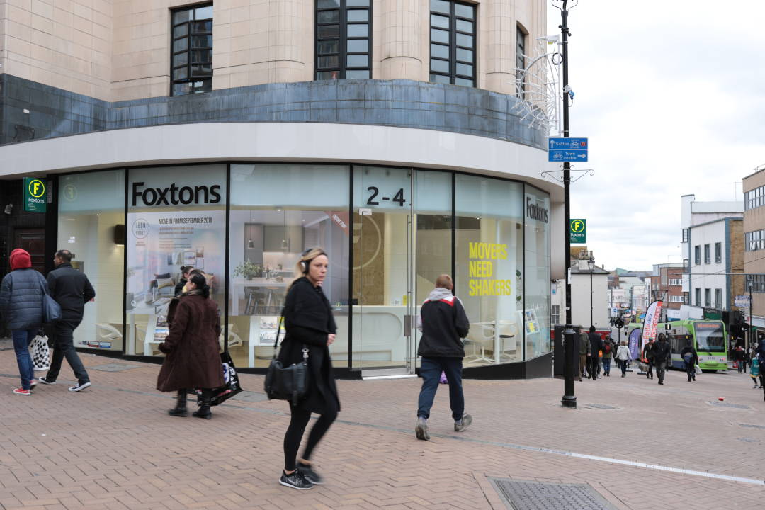 Photo of a branch of Foxtons