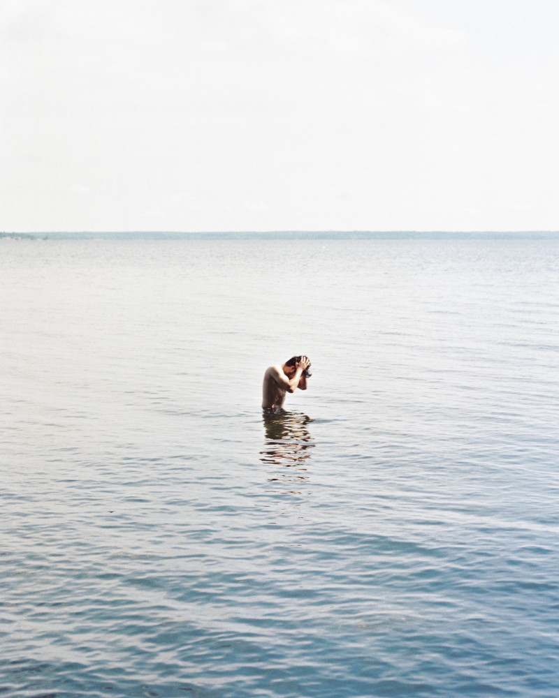 @kelseydanahyphoto on #Portra400 with a #NikkormatFTN at Killbear National Park in Nobel, Ontario, Canada. Scanned on the Frontier SP3000. Rated at 320 ISO and processed normal. 