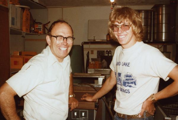 Howard and Brian Wood