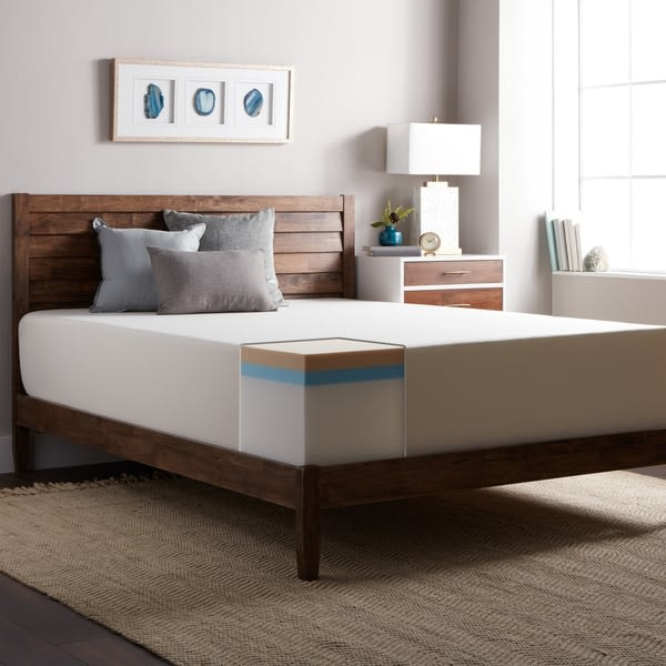 An image related to Select Luxury OS14Select-T Medium Firm Memory Foam Twin-Size 14-Inch Mattress