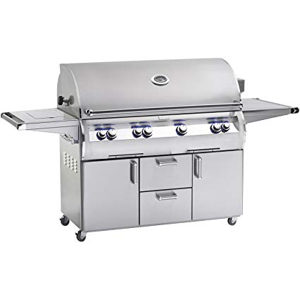 An image related to Fire Magic E1060s-4EAN-62 Diamond 48'' Natural Gas Rotisserie Grill