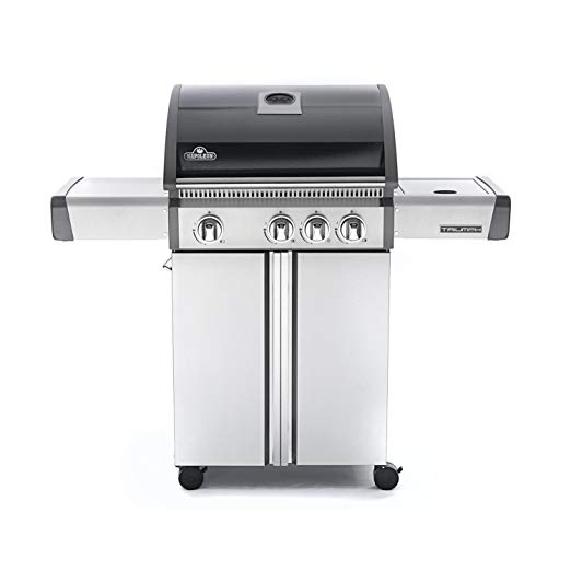 An image related to NAPOLEON T410SBNK-OB Natural Gas Freestanding Covered Grill
