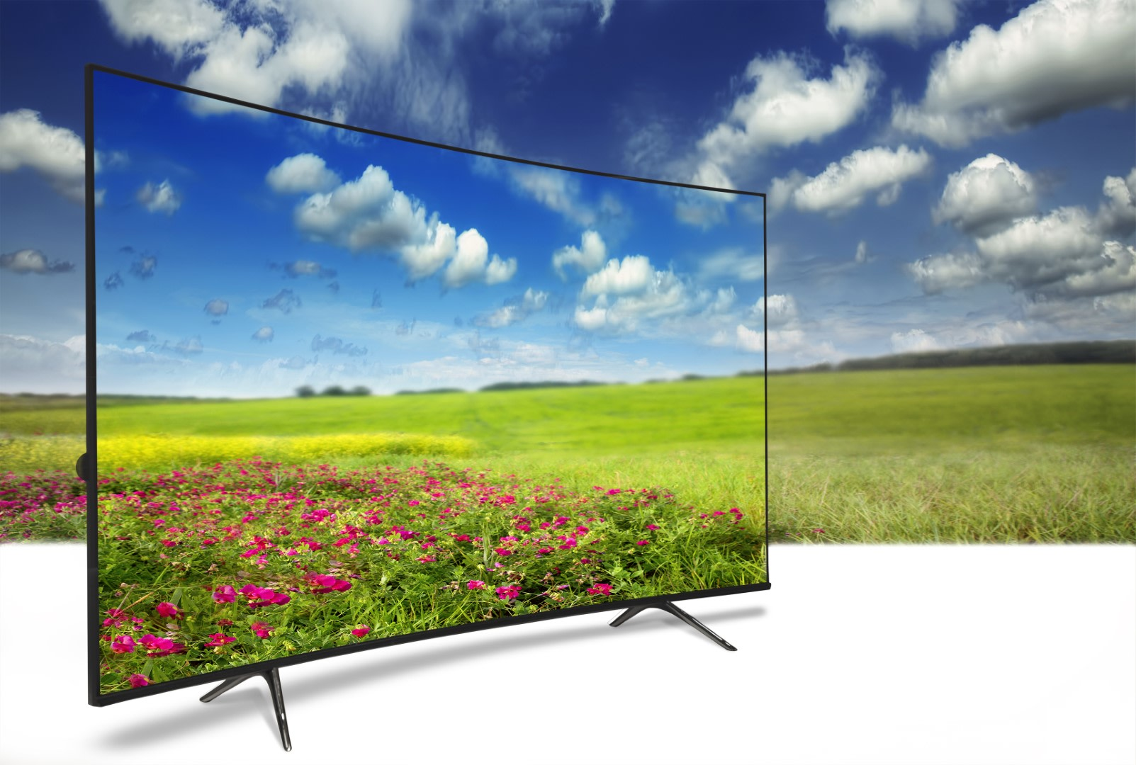 An image related to Reviewing Big Screen Curved TVs