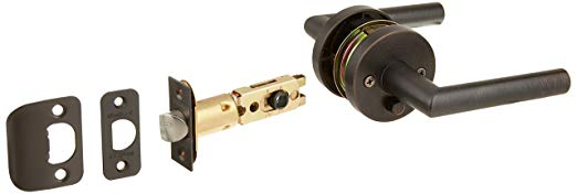 An image of Kwikset 155 MIL Privacy Venetian Bronze Lock