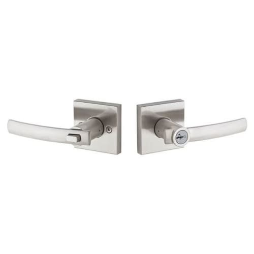 An image related to Kwikset 156SYLSQT-15S Entry Satin Nickel Lock