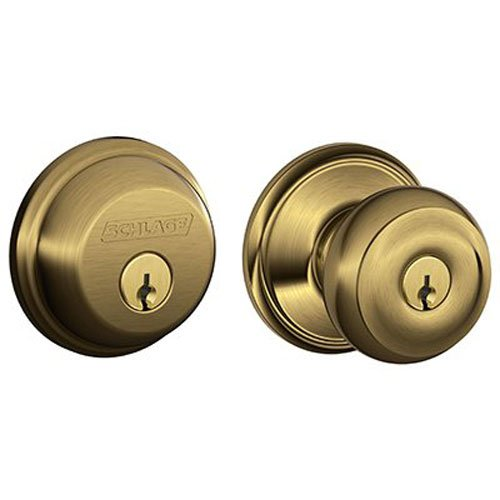 An image related to Schlage FB50NVGEO609 Bronze Lock