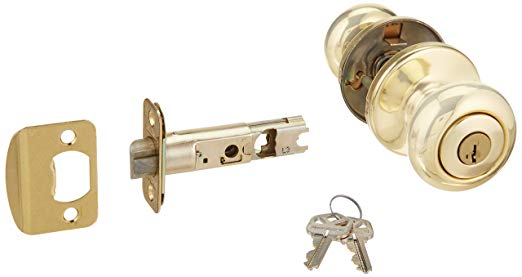 An image of Kwikset 400CV-3S Entry Brass Lock | Door Lock Guide