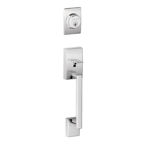 An image related to Schlage F62-CEN-ORB Polished Chrome Lock