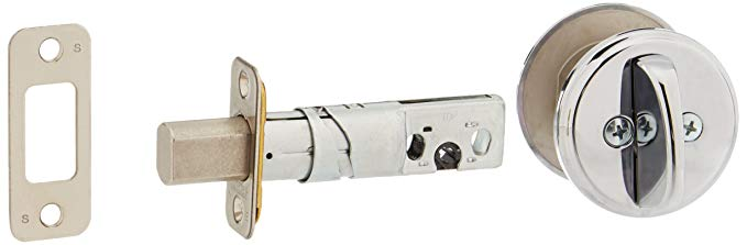 An image of Schlage B81625 Polished Lock | Door Lock Guide