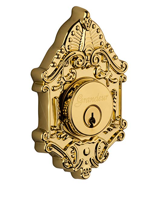 An image related to Grandeur GVC-62-LB-KD House Brass Door Lock
