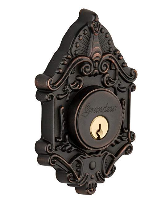 An image of Grandeur GVC-62-TB-KD House Bronze Door Lock | Door Lock Guide