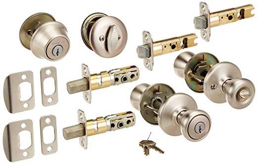 An image of Kwikset TV205055 Deadbolt Lock