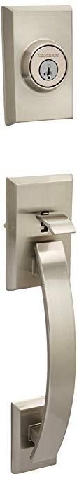 An image related to Kwikset 98001-370 Satin Nickel Lever Lockset Lock