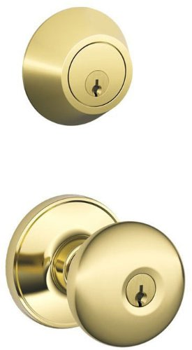 An image related to Schlage JC60V STR 605 Entry Brass Lever Lockset Lock