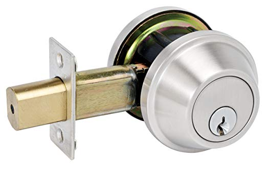 An image of Master Lock DSCHSD32D Brushed Chrome Lock | Door Lock Guide