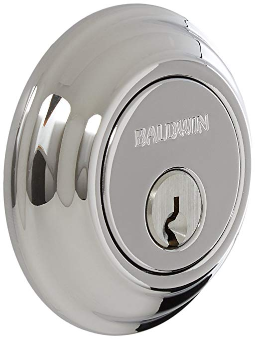 An image related to Baldwin 8231.26 Brass Polished Chrome Lock