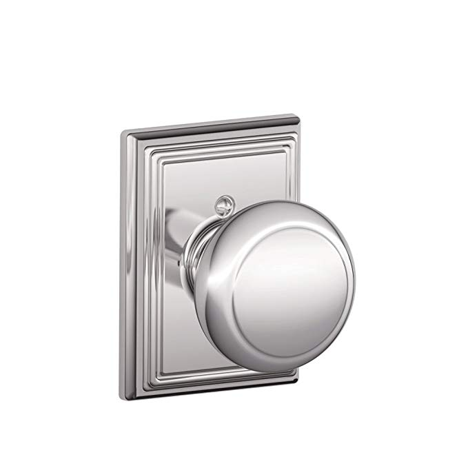 An image related to Schlage F170 AND 625 ADD Chrome Effect Lock