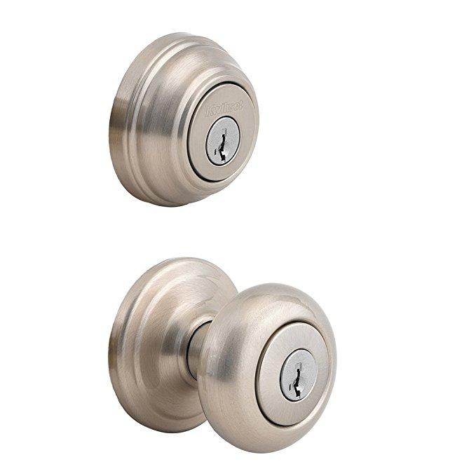 An image of Kwikset 99920-006 Entry Satin Nickel Lock | Door Lock Guide