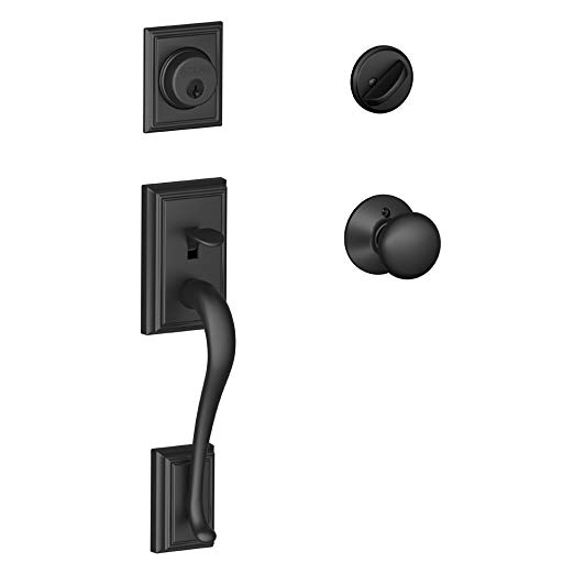 An image related to Schlage F60 ADD 622 Black Lock