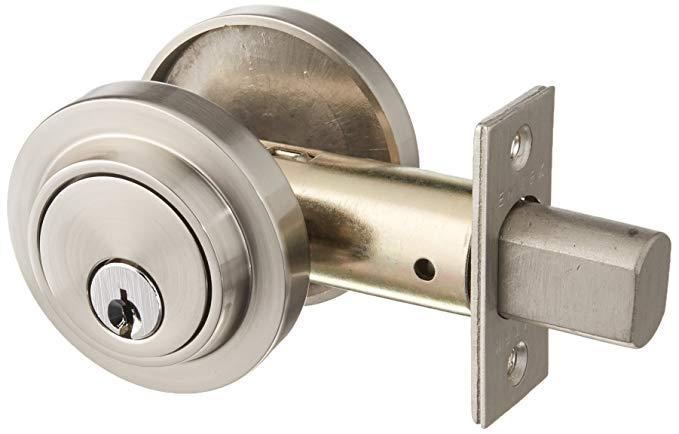 An image of Emtek 8467US15 Satin Nickel Lock