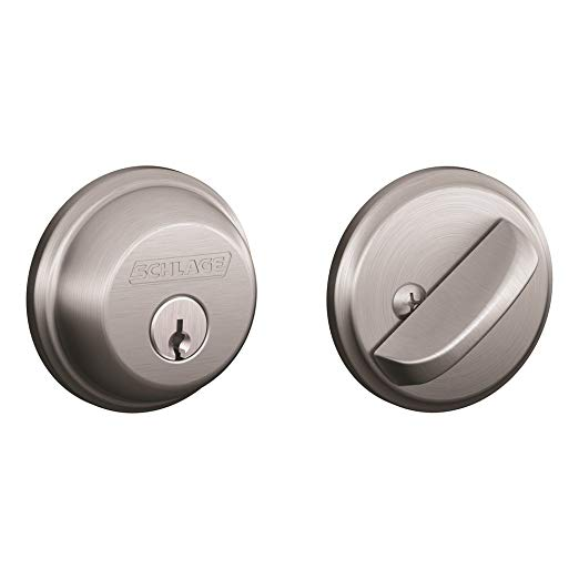 An image of Schlage B60CSSK V 626 Brushed Chrome Lock