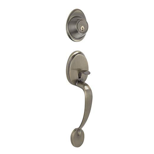 An image of Schlage JH58BAR609 Bronze Lever Lockset Lock