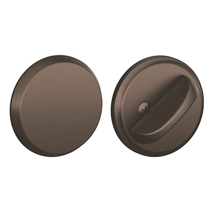 An image of Schlage B81613 Oil-Rubbed Bronze Lock | Door Lock Guide