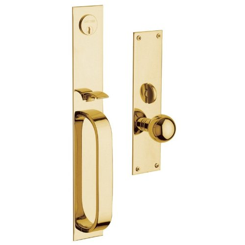 An image of Baldwin 6563003ENTR Brass Polished Lock | Door Lock Guide