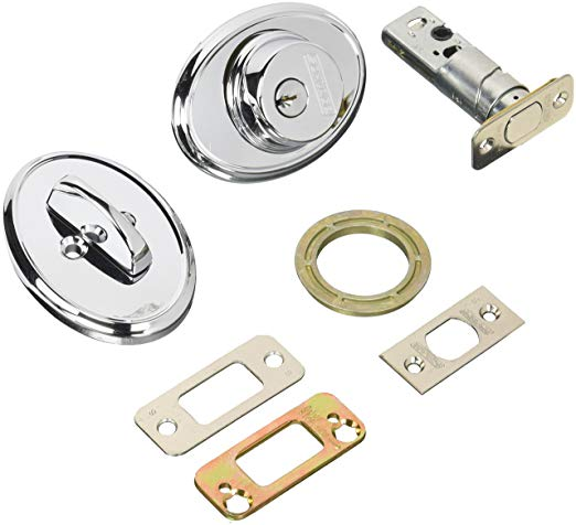 An image of Schlage B60WKF625 Polished Chrome Lock