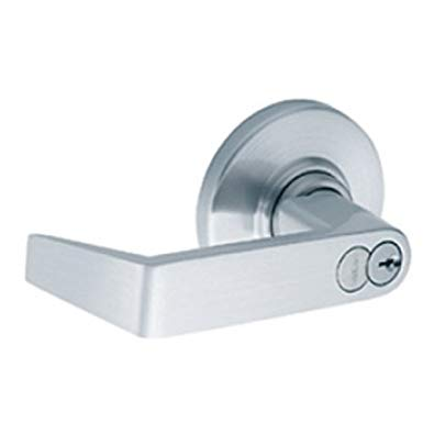 An image related to Schlage ND80BD RHO 626 Storeroom Satin Chrome Lever Lockset Lock