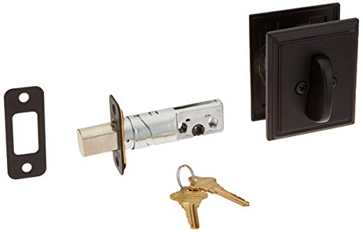 An image related to Schlage B60ADD622 Black Lock