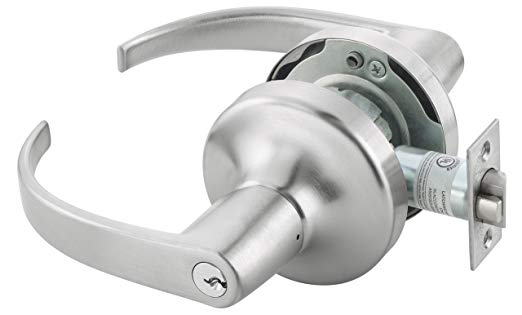 An image related to Yale PB4707LNX613E Entry Lever Lockset Cylindrical Lock