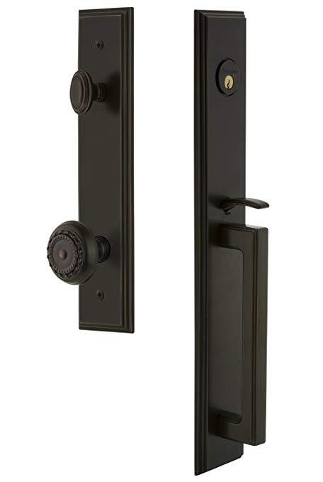 An image related to Grandeur 845307 Brass Bronze Lever Lockset Lock